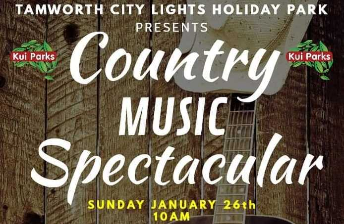 tamworth city lights caravan park country music spectacular cover